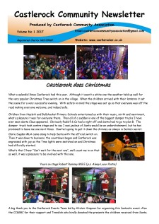 Castlerock Newsletter Vol 1 2017