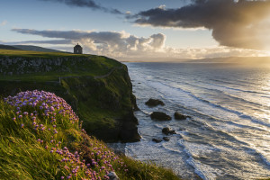 Mussenden Temple from Castlerock