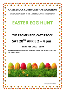 easter Egg Hunt poster 2019